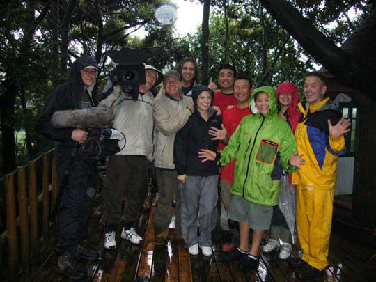 雨でツリークライミングの撮影は今日はできなかったけれど、 またイギリスに行ってみんなでツリークライミングしようぜ!