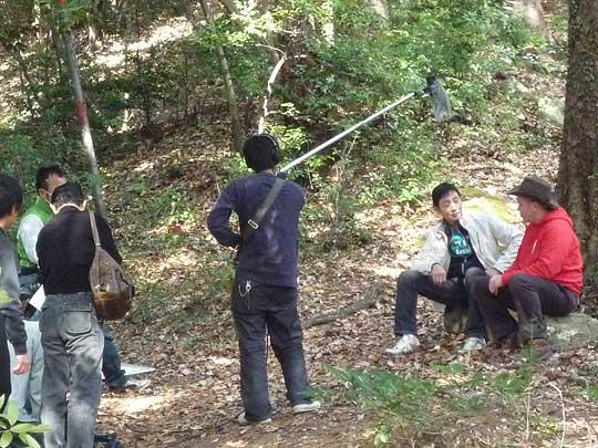 ジョンさんの森に帰ってきて自然との付き合い方を二人で語り合う・・・