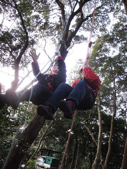 めざせ!樹上の世界へ!