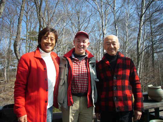 森を愛する3人衆 柳生親子とカナダ人ジョン!