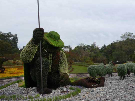 モントリオール市カナダ 『木を植えた男』